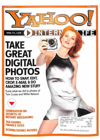 Cover Print of Yahoo! Internet Life, April 2002