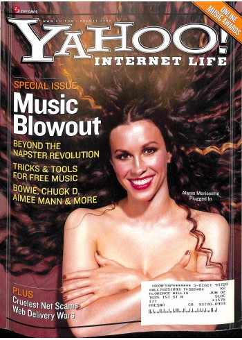 Cover Print of Yahoo! Internet Life, August 2000