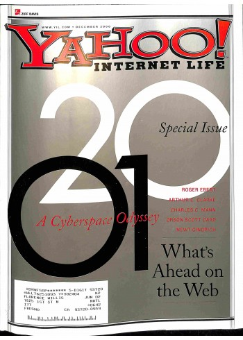 Cover Print of Yahoo! Internet Life, December 2000