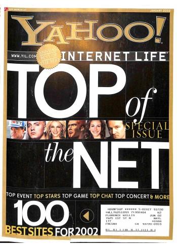Yahoo! Internet Life, January 2002