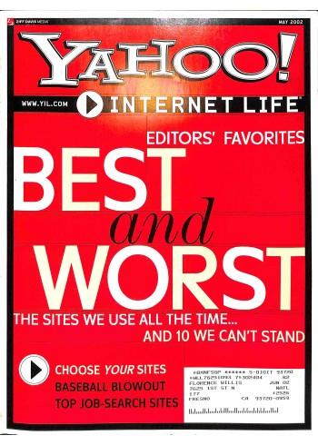Cover Print of Yahoo! Internet Life, May 2002