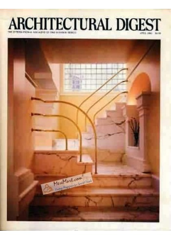 Architectural Digest, April 1983