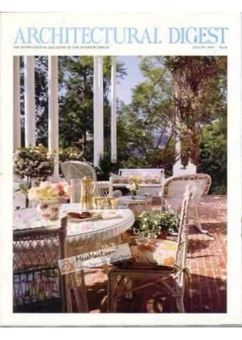 Architectural Digest, August 1989