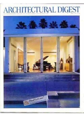 Architectural Digest, April 1997