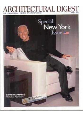 Architectural Digest, April 2002