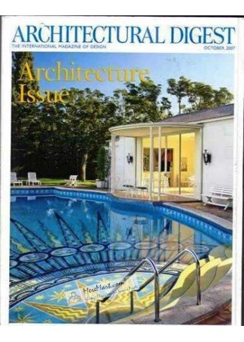 Architectural Digest, October 2007