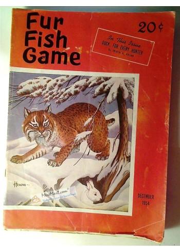 Fur Fish Game, December 1954