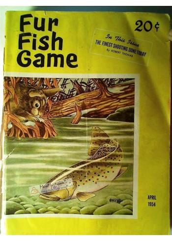 Fur Fish Game, April 1954