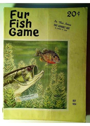 Fur Fish Game, July 1954