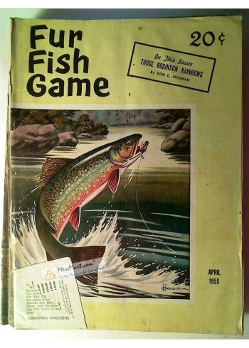 Fur Fish Game, April 1955