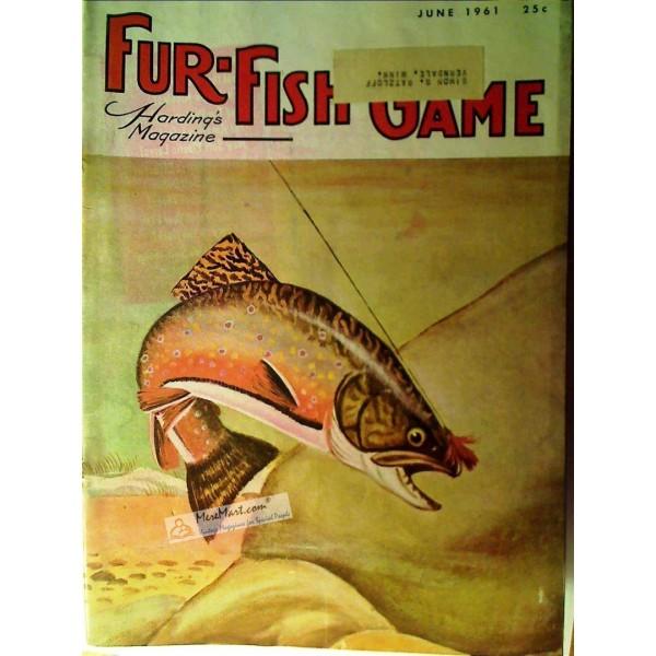 Fur fish game magazine june 1961 for Fur fish and game