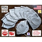 10-count 5-ply KN95 Face Mask Respirator. FDA Listed for Medical Emergency