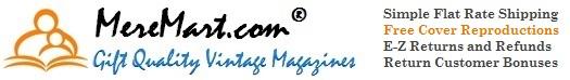 MereMart.com: Gift Quality Vintage Magazines